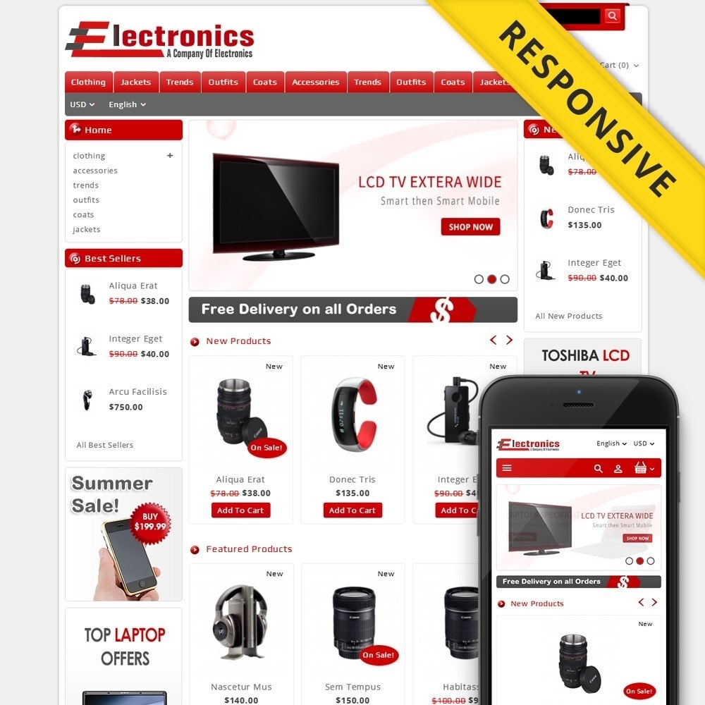 theme - Elektronica & High Tech - Electronics - Multipurpose Store - 1
