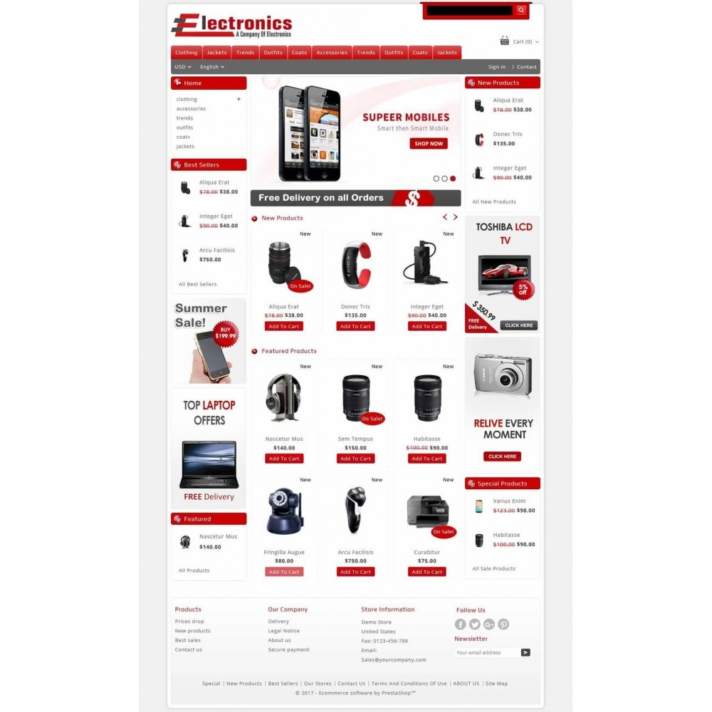 theme - Elektronica & High Tech - Electronics - Multipurpose Store - 2