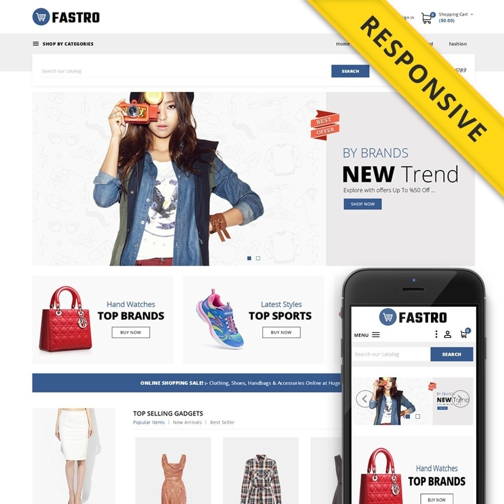 theme - Fashion & Shoes - Fastro - Apparel Store - 1