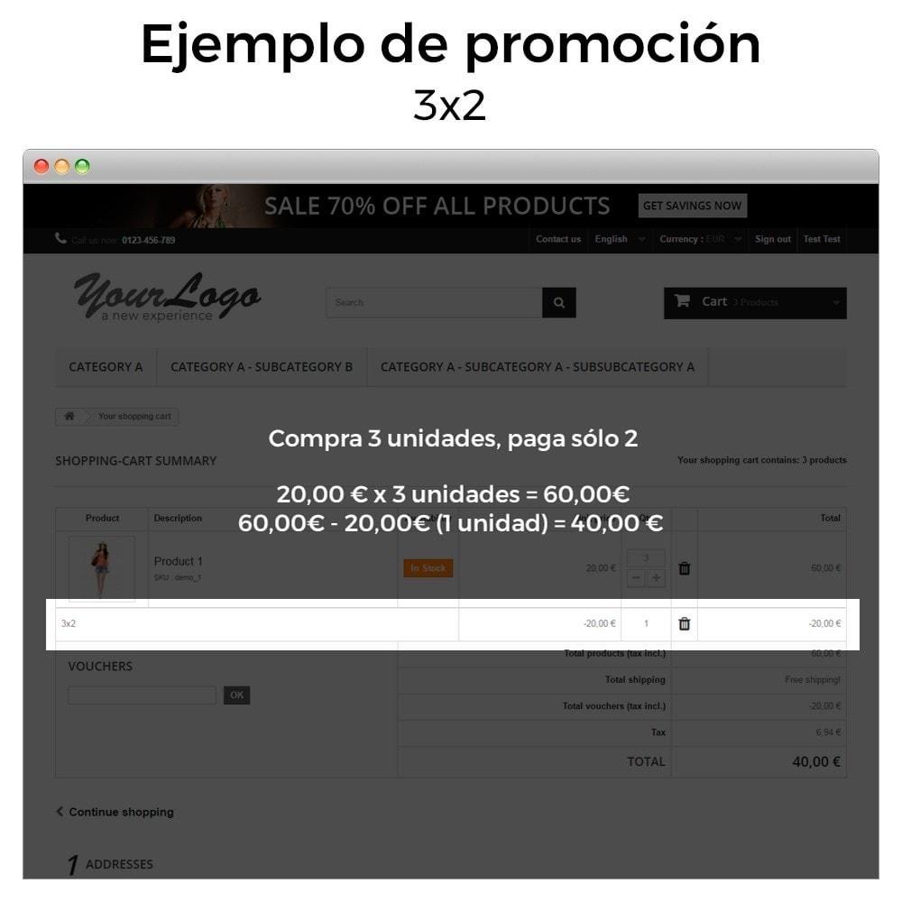 module - Promociones y Regalos - Promociones y descuentos (3x2, rebajas, ofertas, packs) - 5