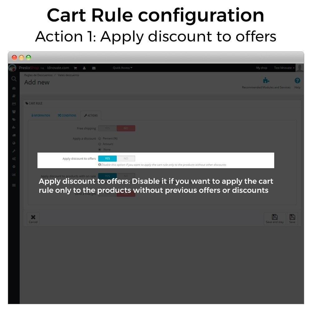 module - Promozioni & Regali - Conditional Cart Rules (without offers, on sale...) - 3