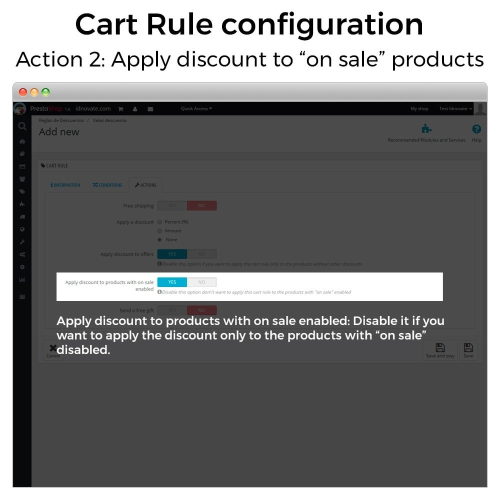 module - Promotions & Cadeaux - Conditional Cart Rules (without offers, on sale...) - 4