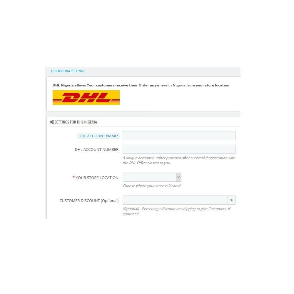 module - Versanddienstleister - DHL_Nigeria - 2