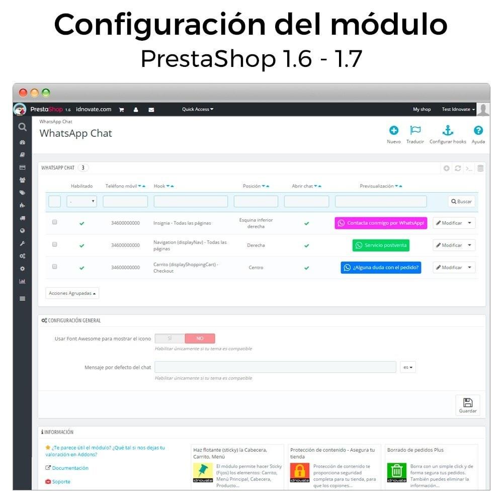 module - Asistencia & Chat online - WhatsApp - Chat con clientes - WhatsApp para Negocios - 16