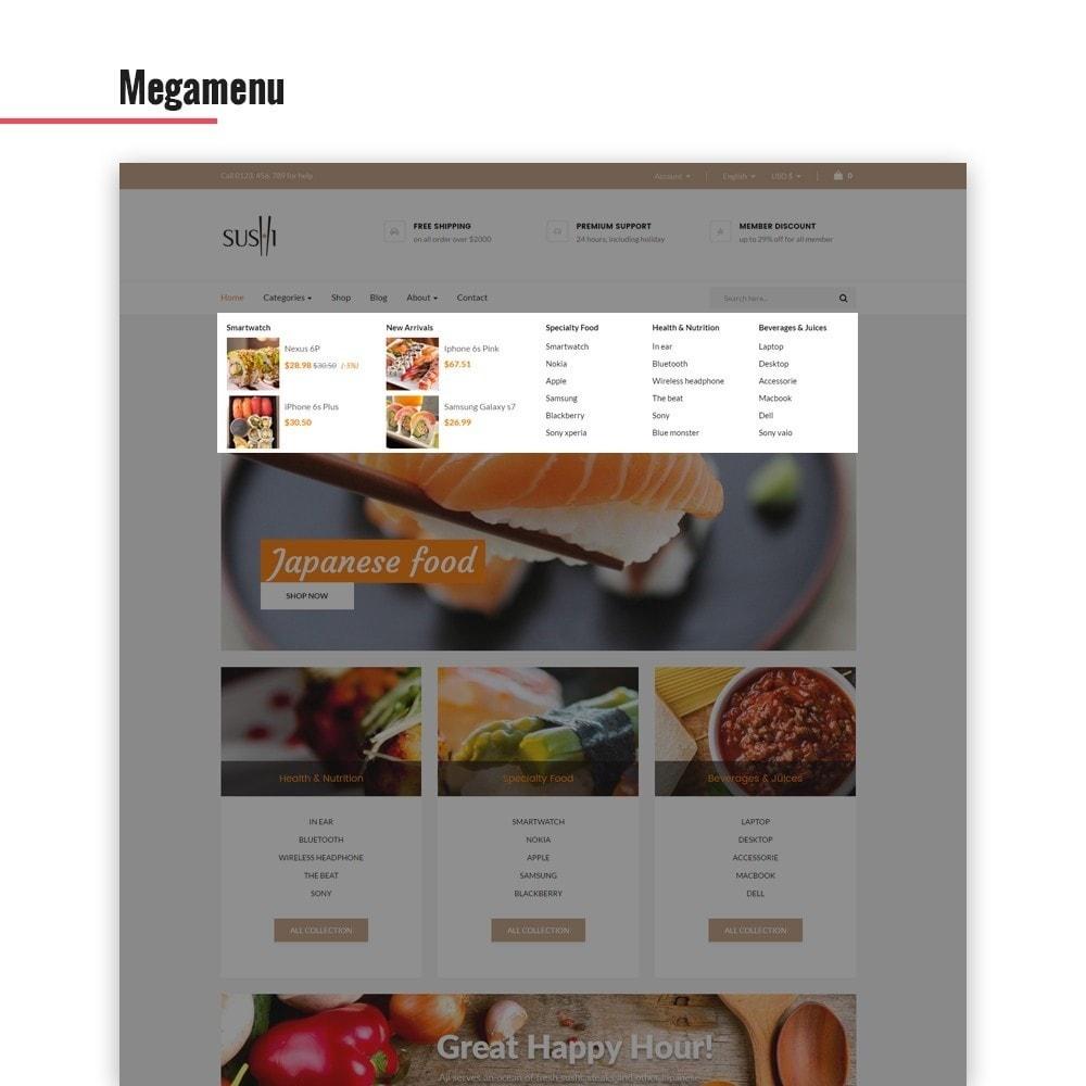 theme - Alimentation & Restauration - Leo I-sushi - 4