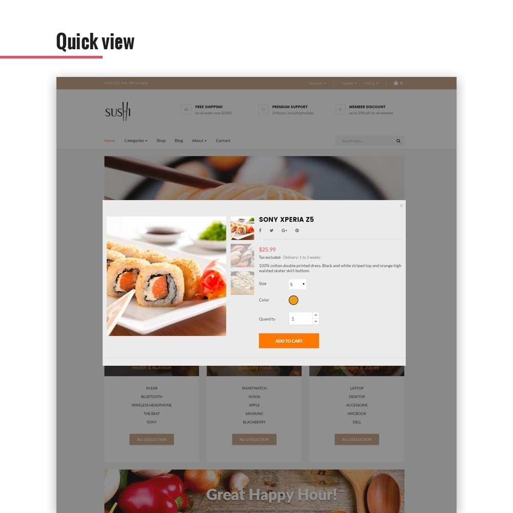 theme - Lebensmittel & Restaurants - Leo I-sushi - 5