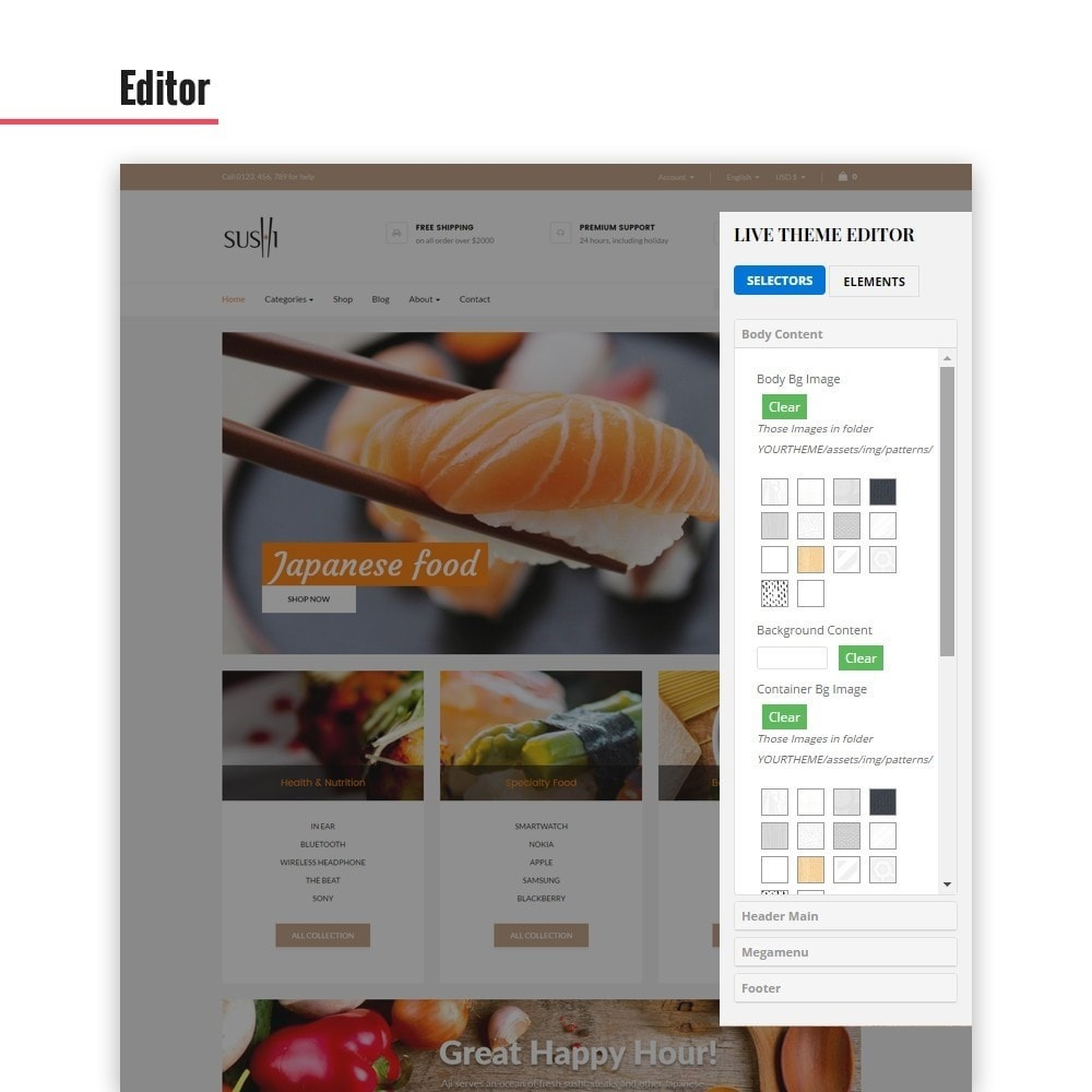 theme - Lebensmittel & Restaurants - Leo I-sushi - 6