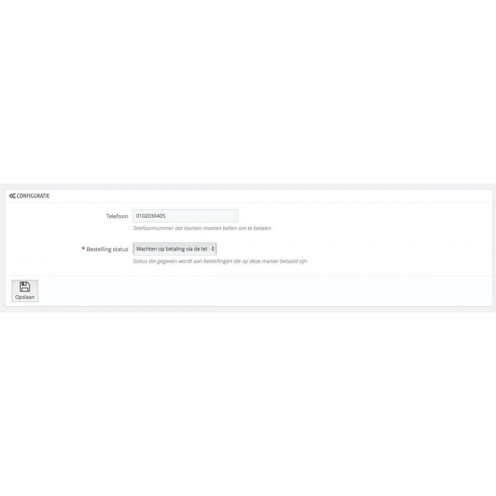 module - Andere betaalmethodes - Betaal met telefoon - 2
