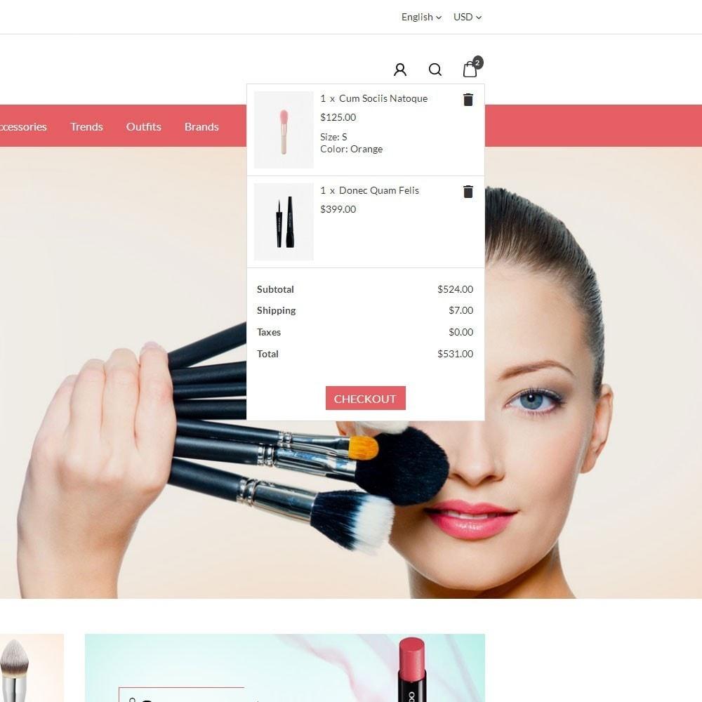 theme - Health & Beauty - Glossy Cosmetics Store - 6