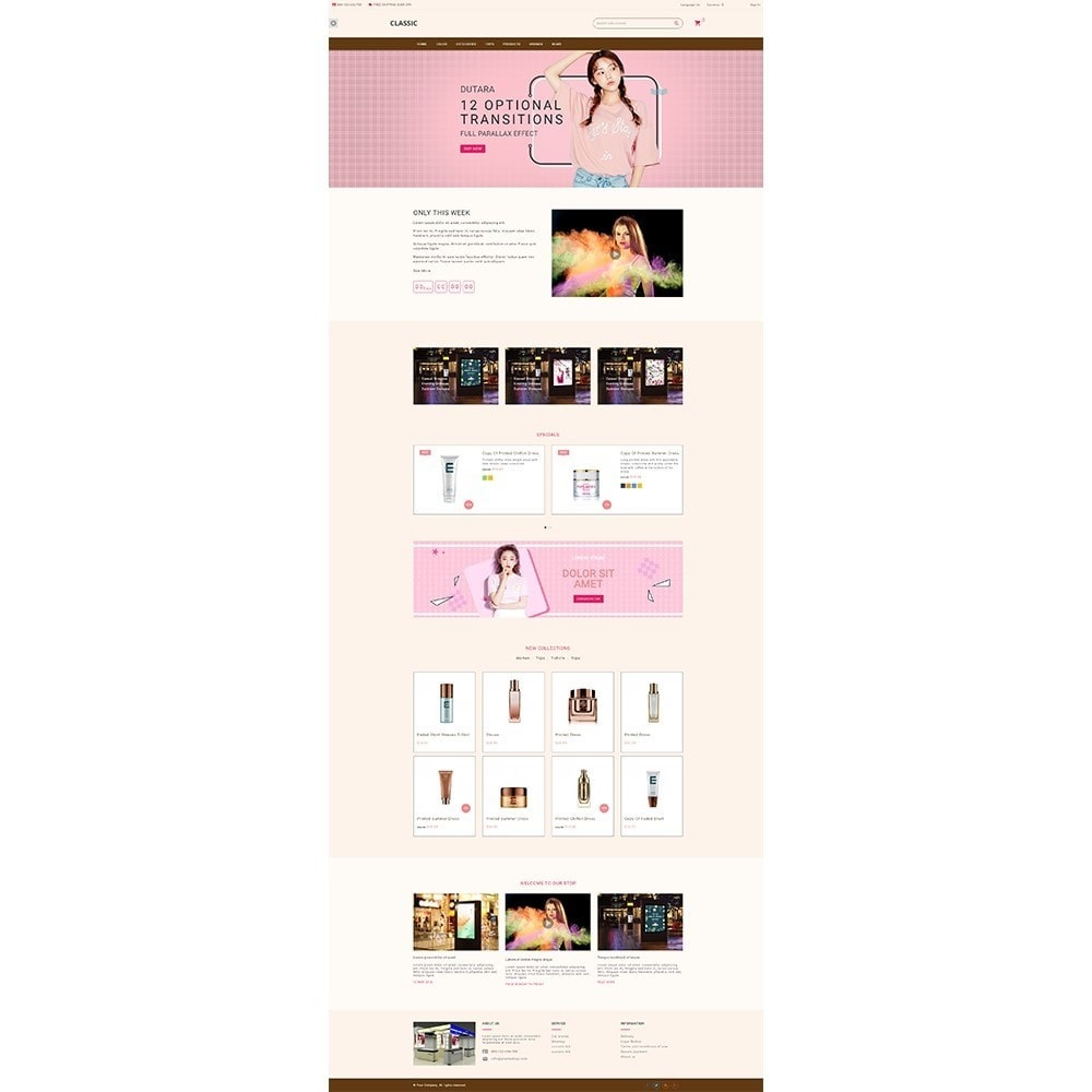 theme - Health & Beauty - Datura Cosmetic store - 2