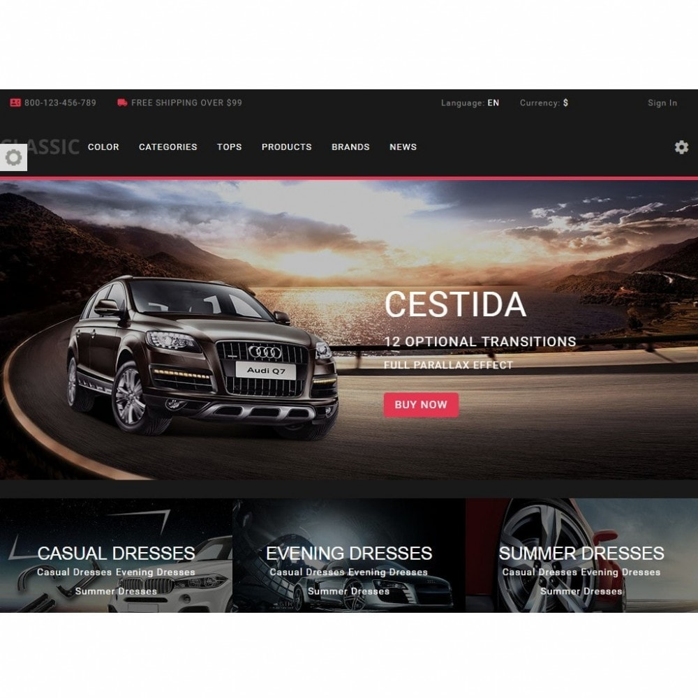 theme - Automotive & Cars - Cestida Cars Store - 5