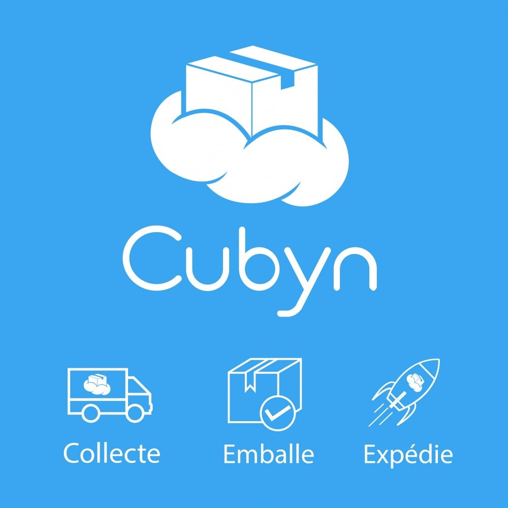 module - Stock & Leveranciersbeheer - Cubyn - Collects, packs and ships your products for 1 € - 1
