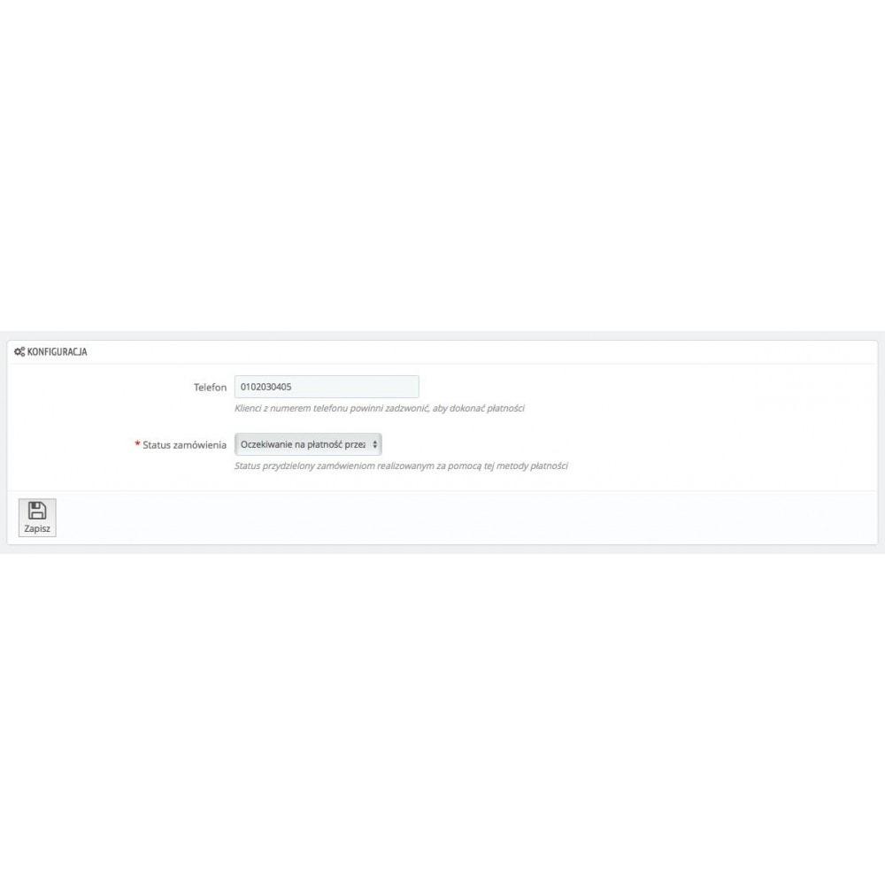 module - Inne środki płatności - Płać przez telefon - 2