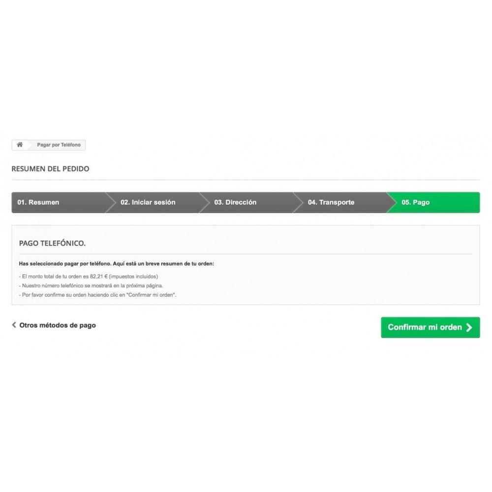 module - Otros métodos de pago - Pagar por Teléfono - 4