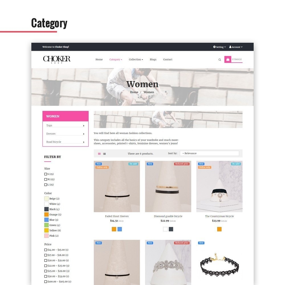 theme - Jewelry & Accessories - Leo Choker - 2