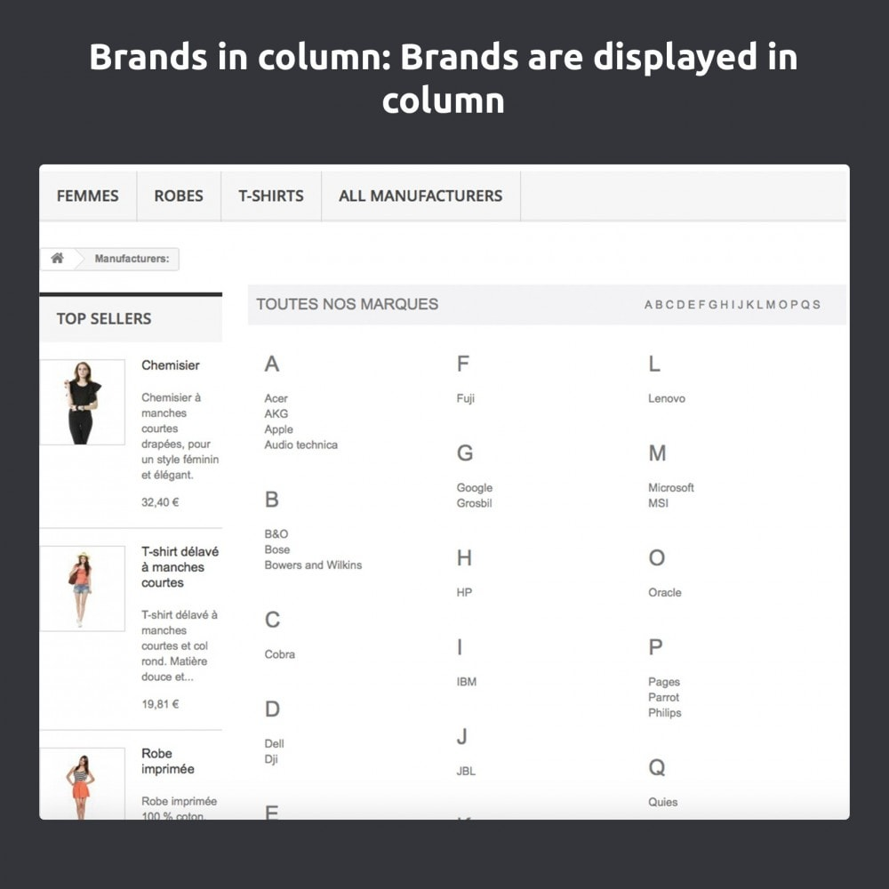 module - Merken & Fabrikanten - Change And Improve The Brands / Manufacturers Page - 7