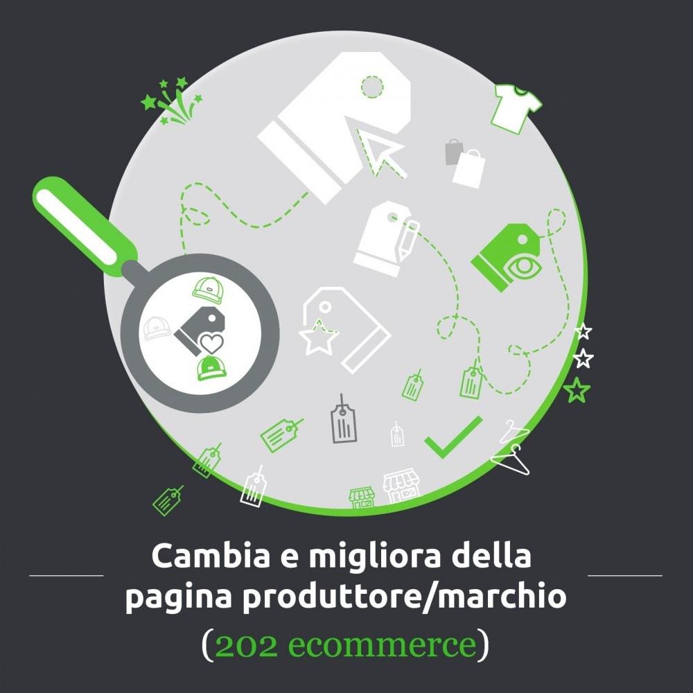 module - Marche & Produttori - Cambia e migliora della pagina produttore/marchio - 1