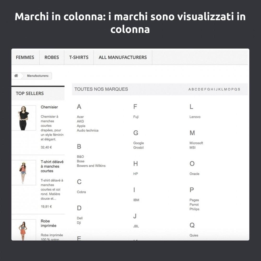 module - Marche & Produttori - Cambia e migliora della pagina produttore/marchio - 7