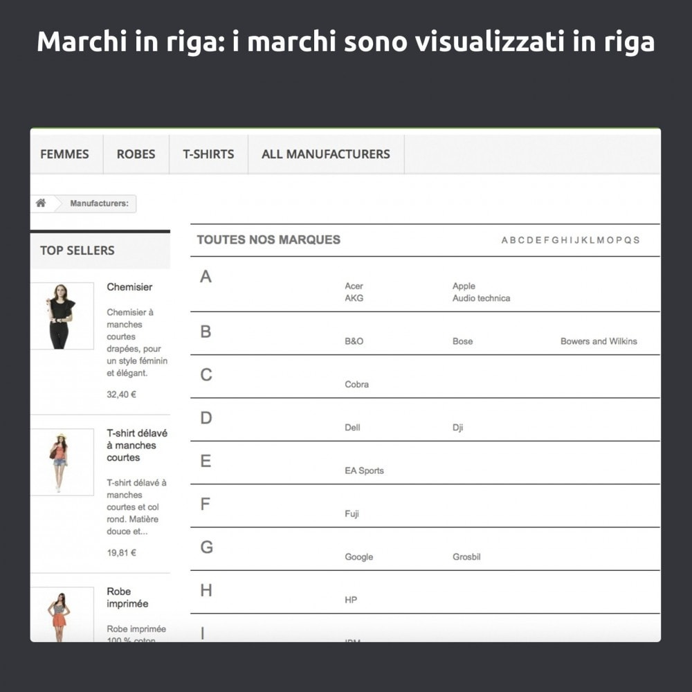 module - Marche & Produttori - Cambia e migliora della pagina produttore/marchio - 8