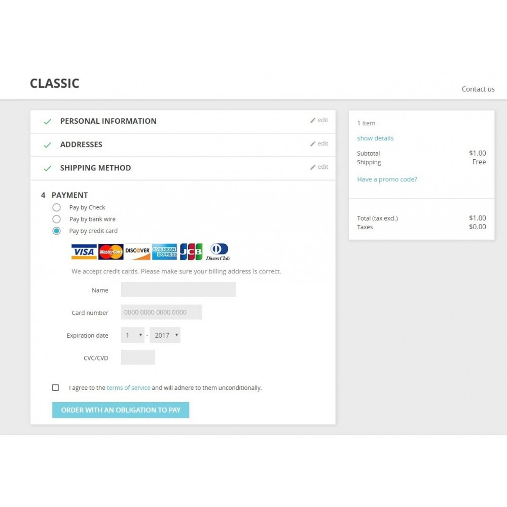 module - Payment by Card or Wallet - Netbilling Payment - 2