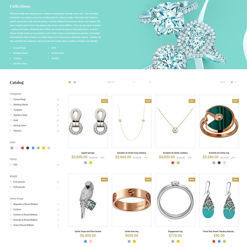 theme - Jewelry & Accessories - EvePrest Jewelry - Jewelry Online Store - 5
