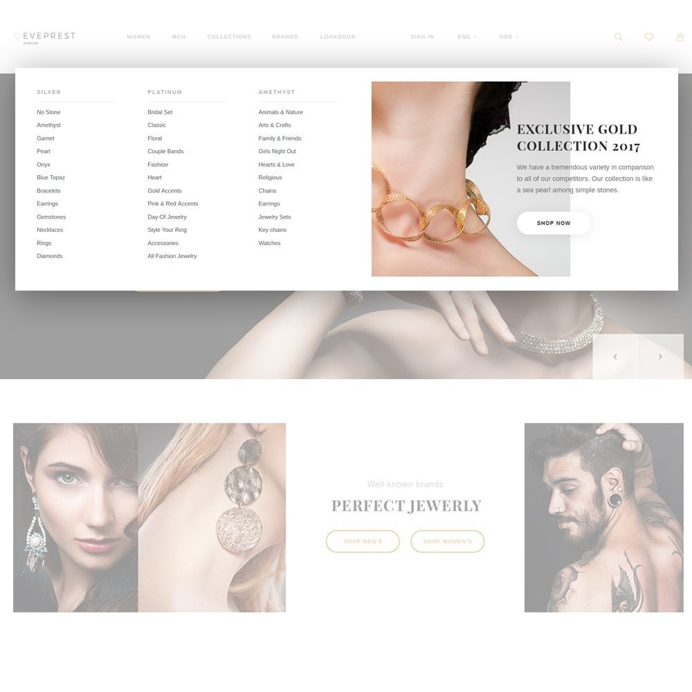 theme - Joalheria & Acessórios - Eveprest - Jewelry Online Store - 3