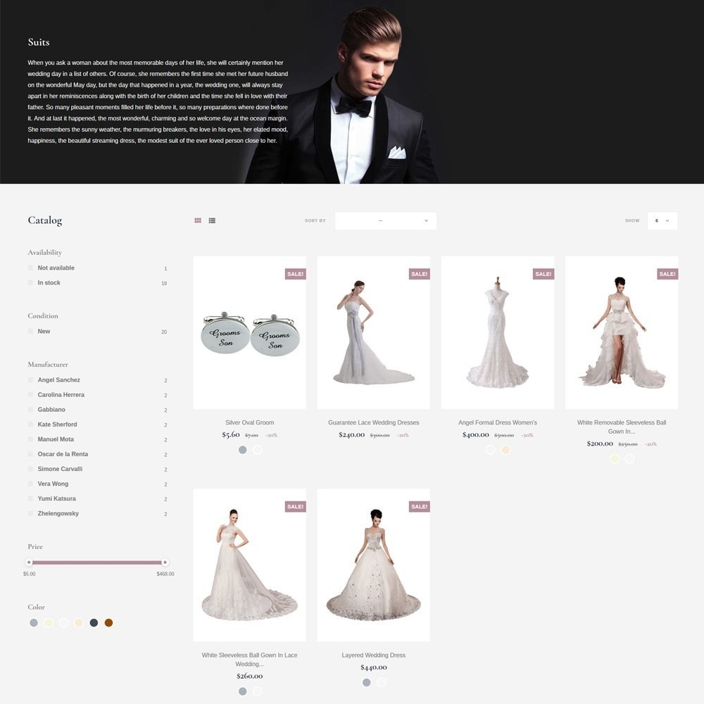 theme - Gifts, Flowers & Celebrations - EvePrest Wedding - Wedding Online Store - 7