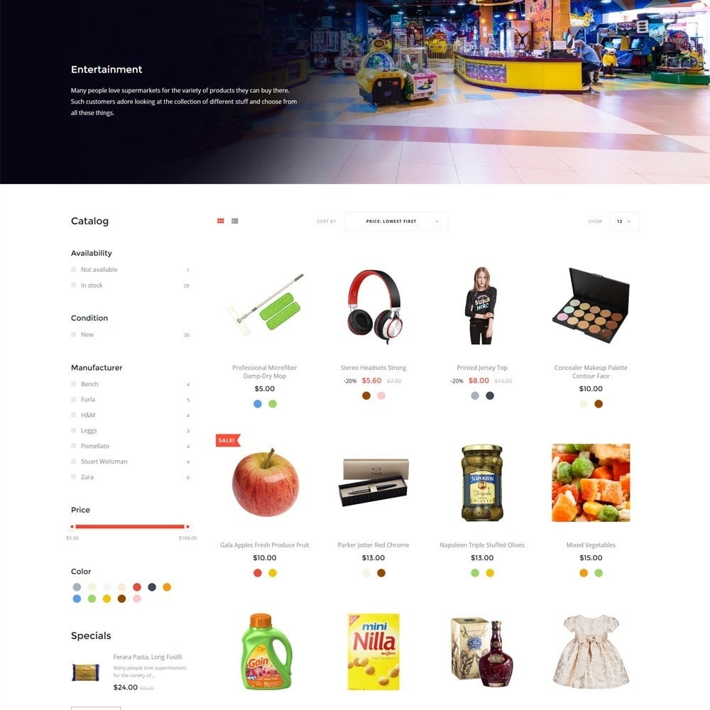 theme - Żywność & Restauracje - EvePrest Supermarket - Supermarket Online Store - 5