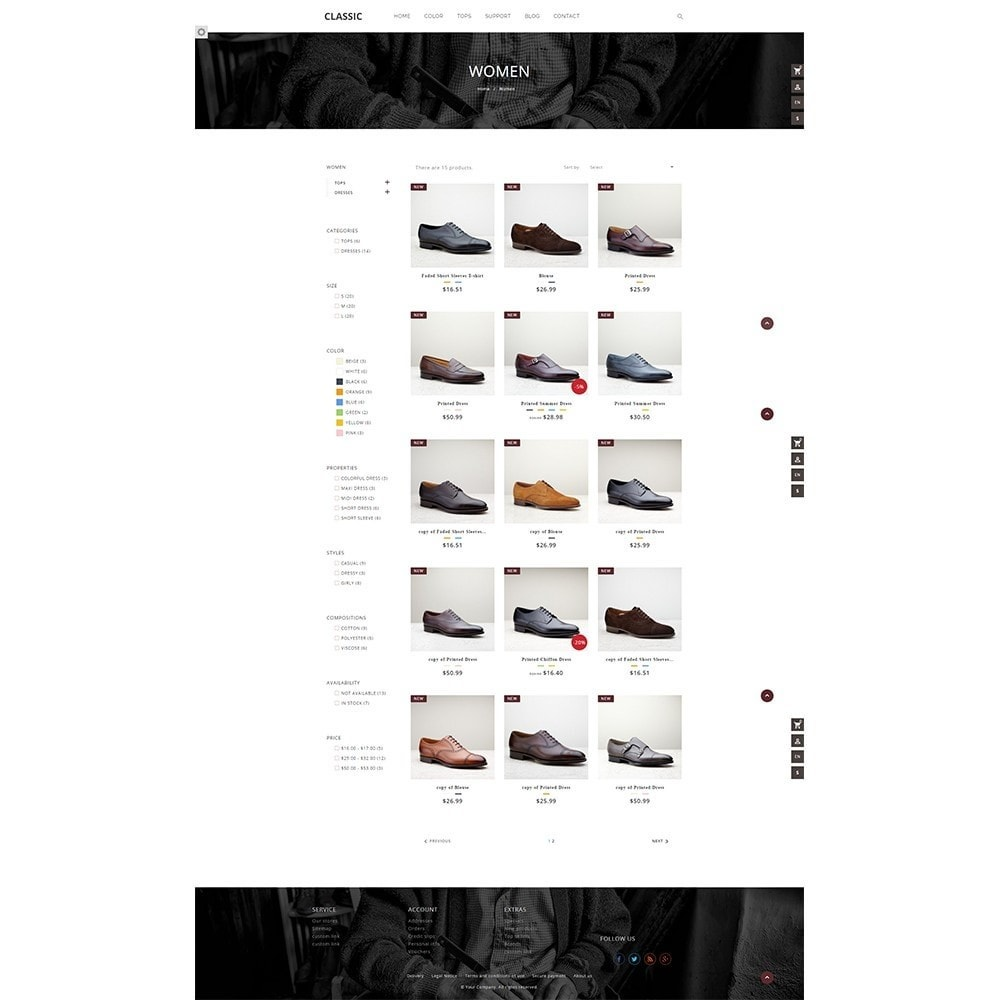 theme - Fashion & Shoes - Fagus Shoes Store - 4