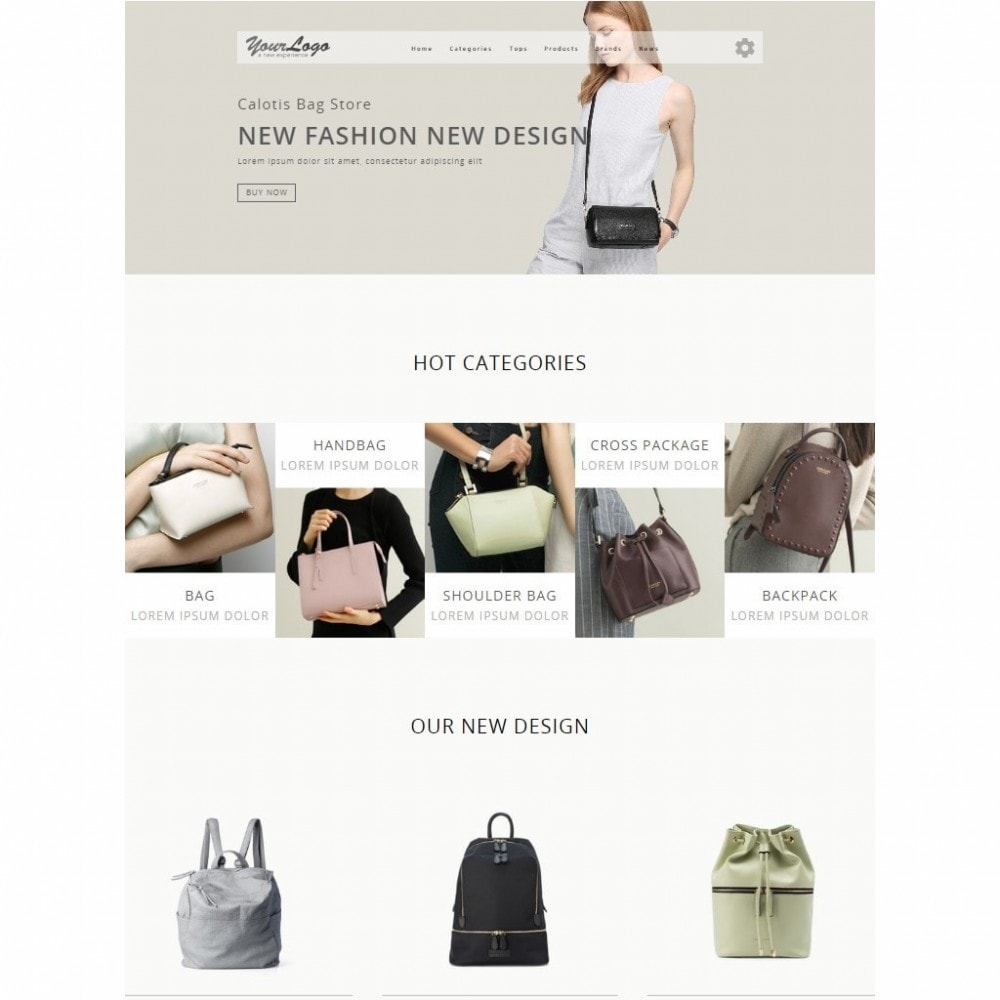 theme - Fashion & Shoes - Calotis Bag Store - 6