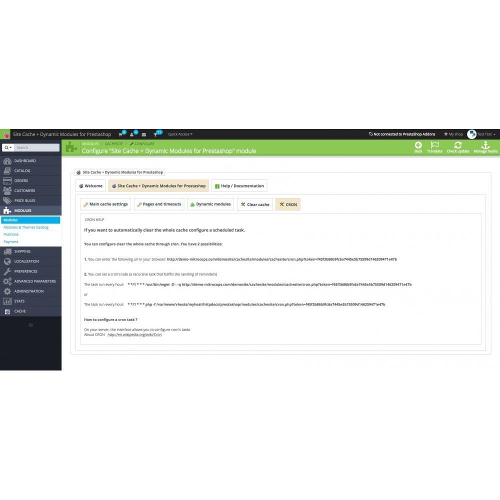 module - Website performantie - Site Cache + Dynamic Hooks - 10