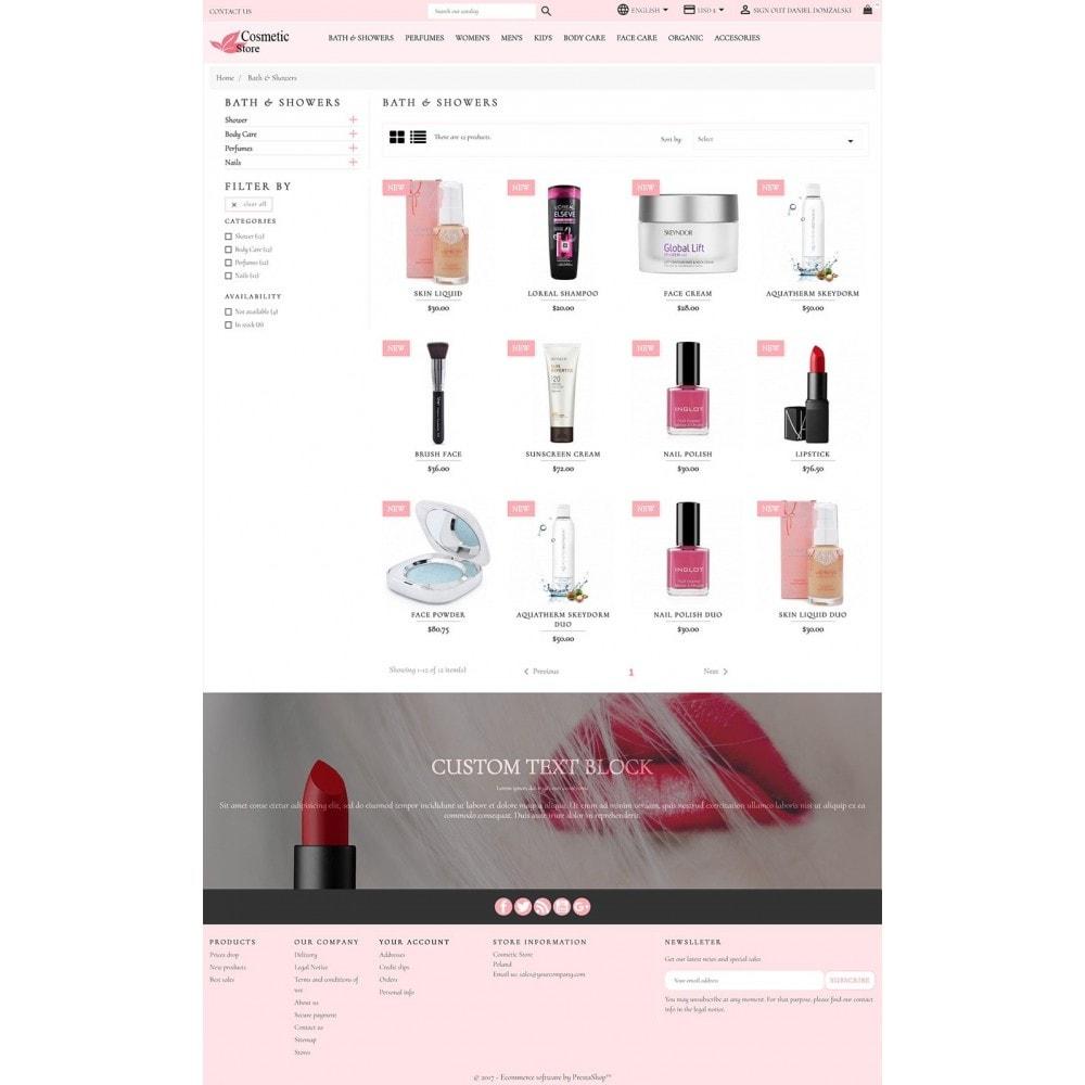 theme - Zdrowie & Uroda - Cosmetic Store - 4