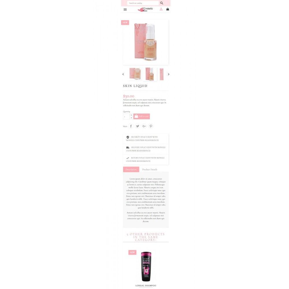 theme - Zdrowie & Uroda - Cosmetic Store - 10