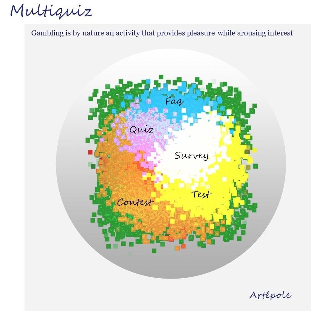 module - Concorsi a premi - Multiquiz - 1