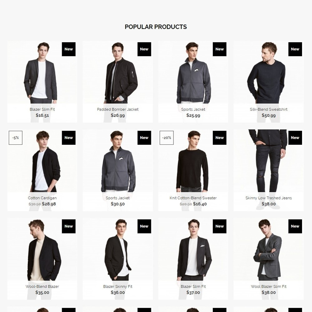 theme - Moda & Calzature - Aaron Men's Wear - 4