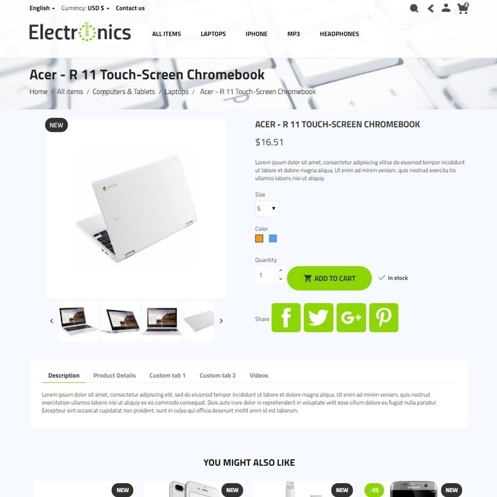 theme - Elektronica & High Tech - Smart Electronics - 6