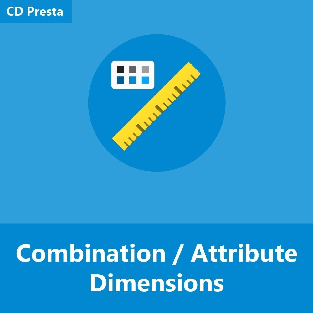 module - Размеры - Product Combination / Attribute Dimensions - 1