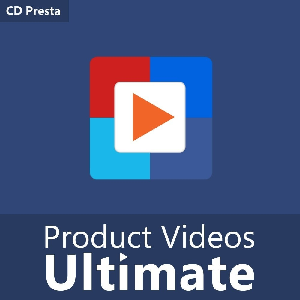 module - Video's & Muziek - Product Videos Ultimate for YouTube, Vimeo, and more - 1