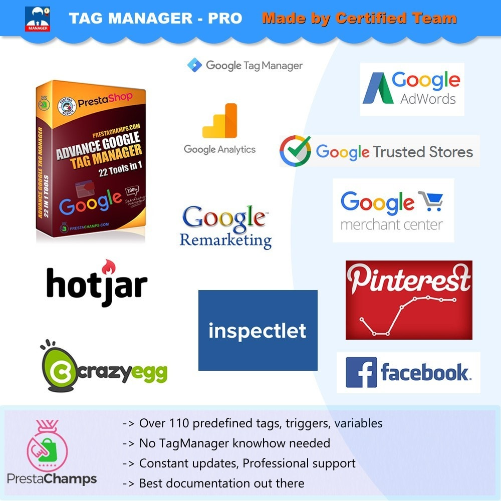 module - Статистика и анализ - Advance Google Tag Manager - PRO - 8