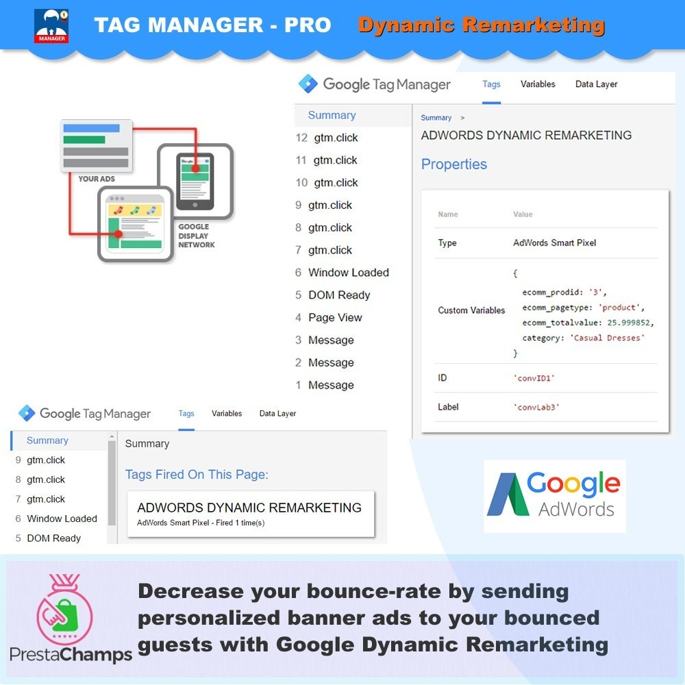 module - Analyses & Statistieken - Advance Google Tag Manager - PRO - 11