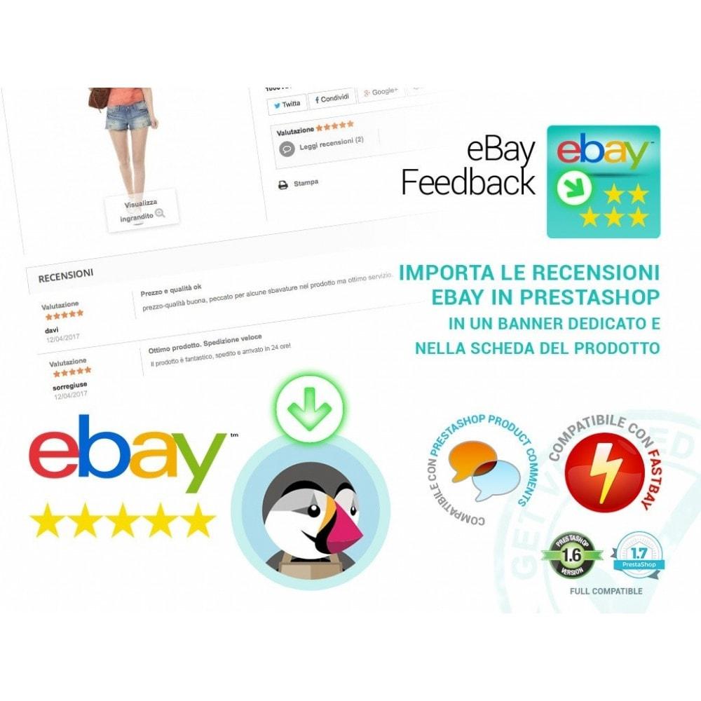module - Recensioni clienti - Importa recensioni / feedback eBay in Prestashop - 1