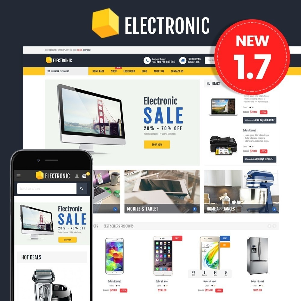 theme - Elektronik & High Tech - Electronics Store - 1