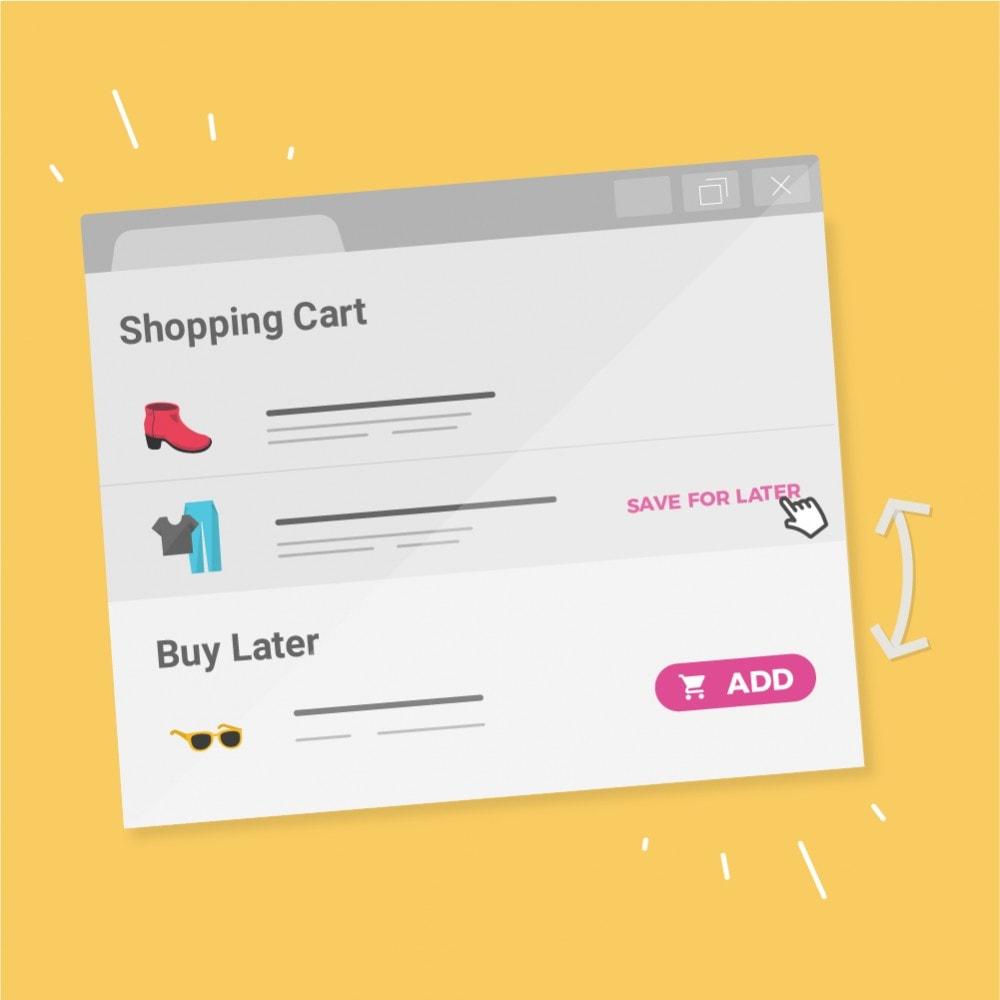 module - Whishlist & Gift Card - Buy Later (Salva per dopo) - 1