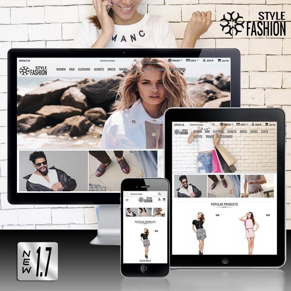 theme - Moda & Obuwie - Classic Style Fashion - 2