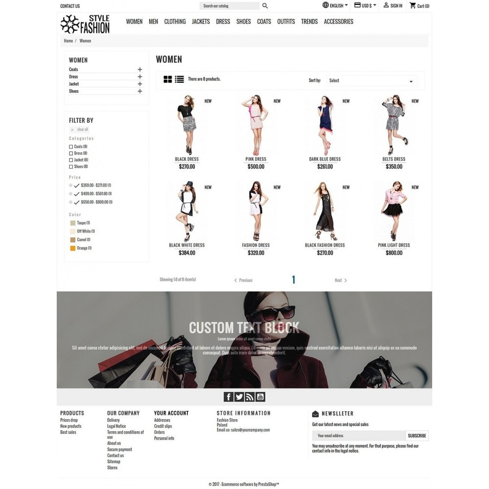 theme - Moda & Obuwie - Classic Style Fashion - 5