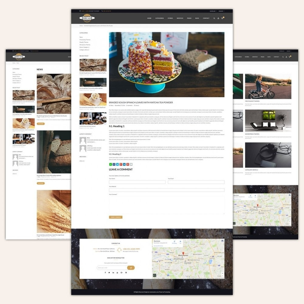 theme - Lebensmittel & Restaurants - JMS Bread - 5