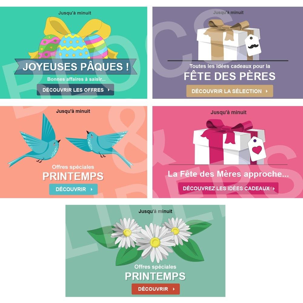 other - Visuels pour Promotions - 5 Visuels Promo - Printemps - 1.7 - 1
