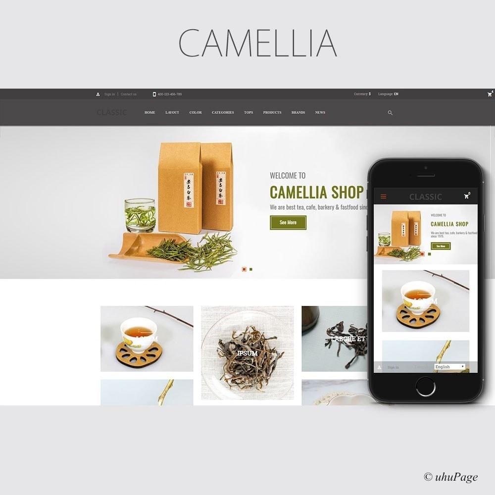 theme - Drink & Wine - Camellia Tea Store - 1