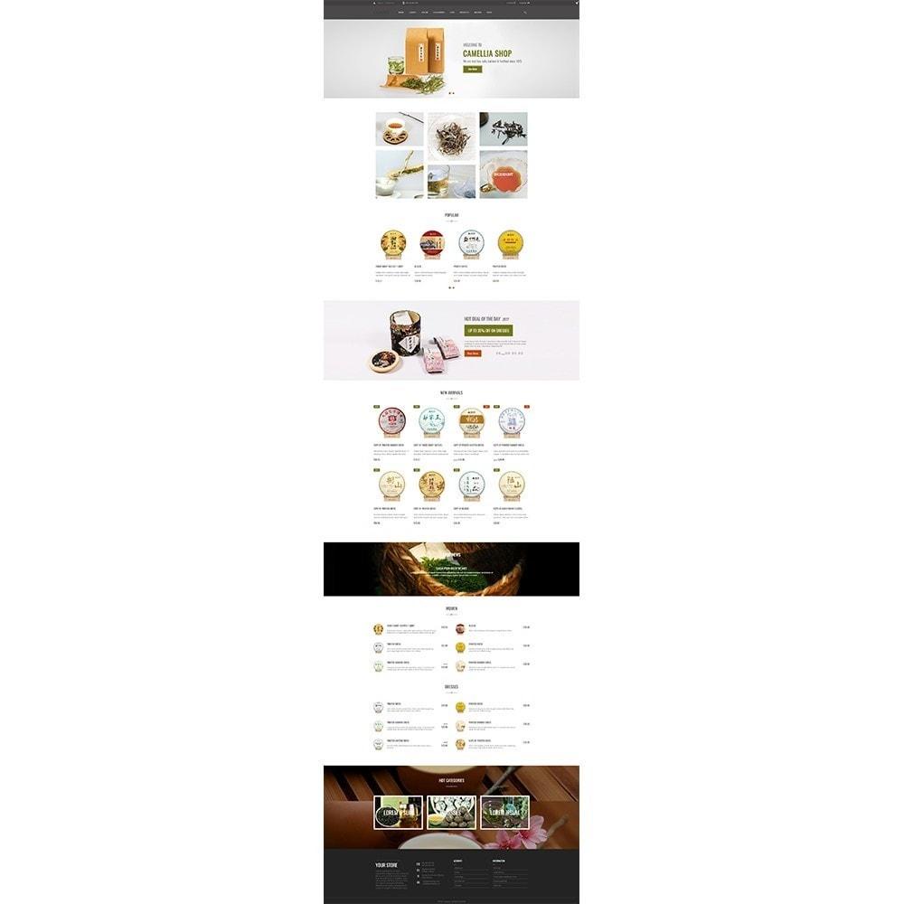 theme - Drink & Wine - Camellia Tea Store - 2