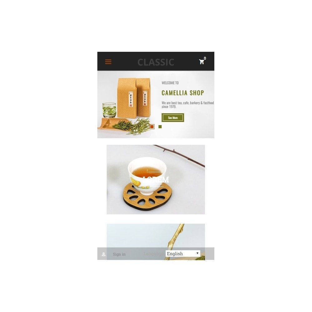 theme - Boissons & Tabac - Camellia Tea Store - 8